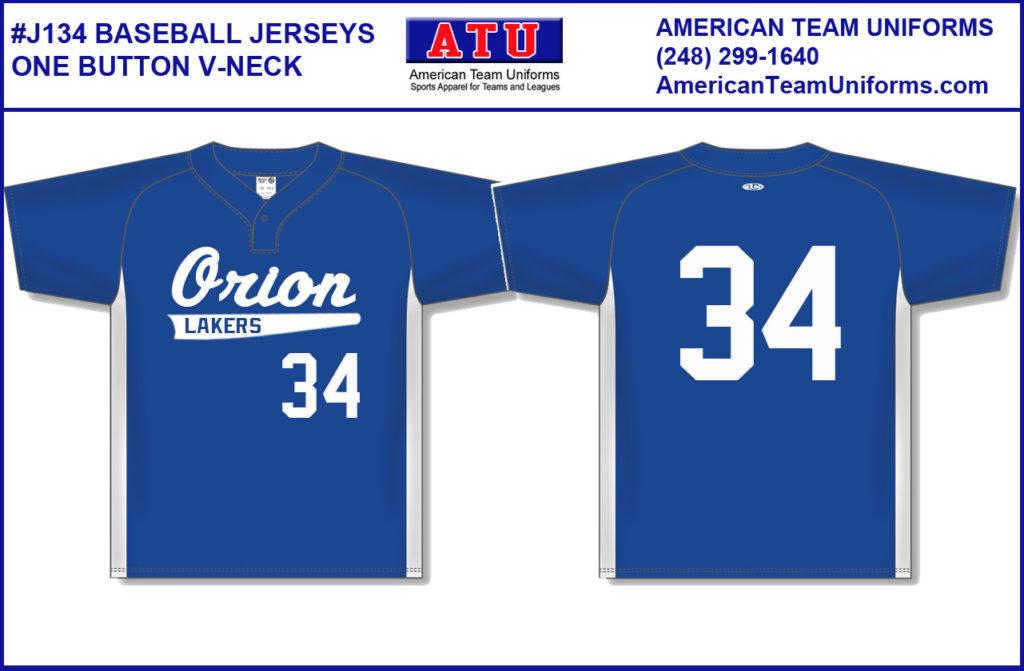 466fa26c8 J5200 Baseball-Softball Jerseys - Full Button - Youth   Adult